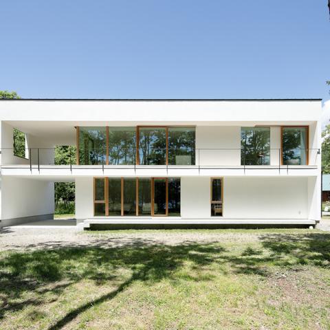 063大町青木湖Yさんの家の画像1