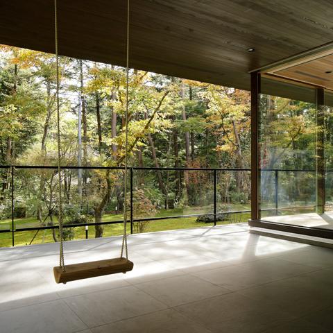 061軽井沢Hさんの家の画像12