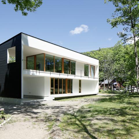 063大町青木湖Yさんの家の画像2