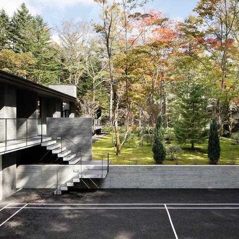 061軽井沢Hさんの家の画像5