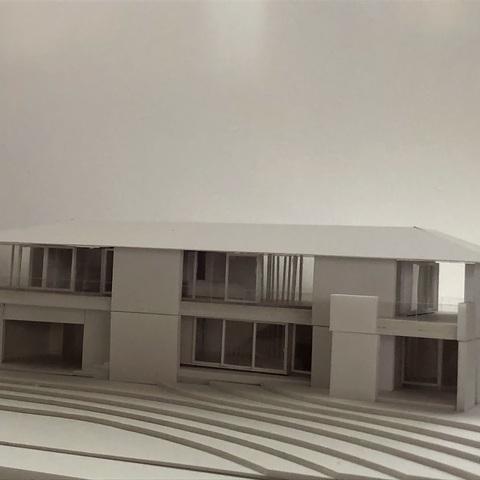 模型ができました ~ TW house in 山中湖サムネイル