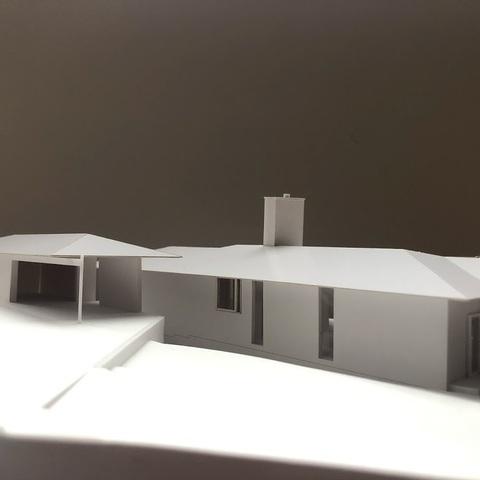 模型ができました ~ 軽井沢Tさんの家サムネイル